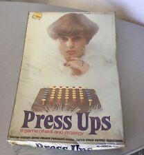 1974# INVICTA GAMES BOARD GAME CONSOLE PRESS UPS #FACTORY SEALED