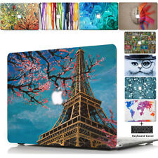 "Laptop Hard Shell Case Keyboard Skin Cover For Apple Mac Book Macbook 11""-15"" TT"