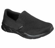 Skechers Black Shoes Men Memory Foam Comfort Slip On Casual Mesh Sneaker 232016