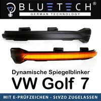 Bluetech Dynamische Blinker LED Spiegelblinker Golf 7 MK7 GTI R GTE GTD Touran