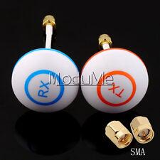 5.8GHz Circular Polarized Mushroom Antenna SMA Set Tx/Rx for Multicopter MO
