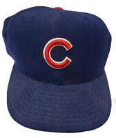 VTG New Era 59FIFTY MLB CHICAGO CUBS Fitted Hat Size 7 1/2 100% Wool Made in USA