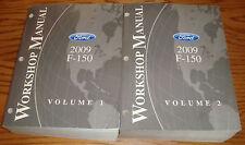 Original 2009 Ford F-150 Shop Service Manual Volume 1 & 2 Set 09