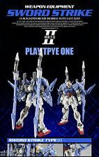 Dragon Momoko Weapon Equipment Sword 2.0 for Bandai MG RM GATX105 Strike Gundam