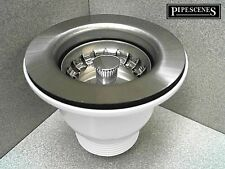 RAK Sink Mini Basket Strainer Waste & Plug for Ceramic Belfast Sink 65mm Hole