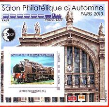 TIMBRE BLOC  CNEP N° 64  SALON AUTOMNE 2013  PARIS