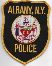 US Capital City HAUPTSTADT  NEW YORK  Albany  Polizei Abzeichen Police Patch USA