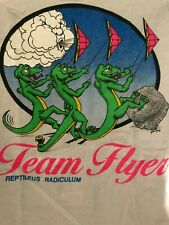 Men's Beefy Hanes Top of the Line Flight Squadron Team Kite Reptilus  T-shirt S