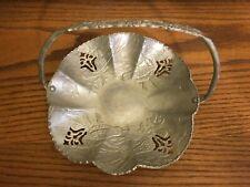 Farber Shlevin Hand wrought Aluminum Basket Stamped 1705