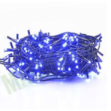 100 mini luci lampadine di natale 4,5 metri luce blu per addobbi natalizi