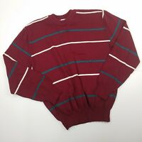 Repage Vintage Knit Sweater Greece Mens Grandpacore XL Red Blue White 80's Cosby