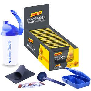 20,06€/kg ++ PowerBar Ride Gel Shots, 24 x 60g Beutel BOX NEU + BONUS ++