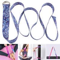 Cinturón de yoga con correa de hombro ajustable para colchoneta de y QA
