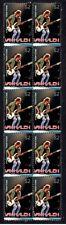Van Halen Strip Of 10 Mint Vignette Stamps, Michael Anthony