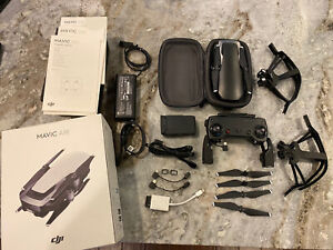 DJI Mavic Air Onyx Black 4K Camera Drone Plus Battery And 32gb Sandisk SD Card