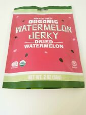 Trader Joes Organic Watermelon Jerky Dried Watermelon Net Wt. 2 OZ