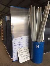 NEW TWIN WALL POLYCARBONATE SHEETS -  CLEAR and TINTED 10mm x 1000mm x 2400mm -