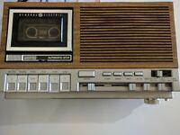 General Electric AM / FM Cassette Clock Radio Model No. 7- 4975B