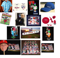 PHILLIES 2017 PICK A GIVEAWAY:HAT/PRINT/BOBBLEHEAD/SHIRT/CARDS/FATHEAD SGA