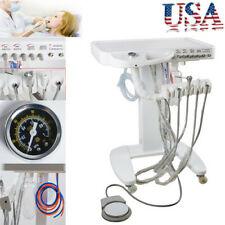 New Listingportable Mobile Dental Delivery Unit System Cart Treatment Compressor 4hole Usa
