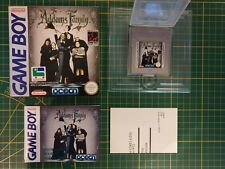 RARE NEW NEUF Nintendo Game boy Gameboy ADDAMS FAMILY OVP BOITE Boxed DMG-AF-FAH