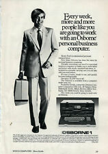 """ITHistory AD (1983) OSBORNE """"EVERY WEEK MORE AND MORE PEOPLE LIKE YOU (UK) AS"""