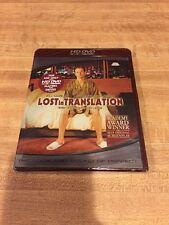 Lost in Translation (Hd Dvd, 2007) Bill Murray Scarlett Johansson