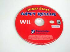 JumpStart Pet Rescue game for Nintendo Wii -Loose