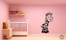 Wall Sticker For Kids Baby Giraffe Cool Decor for Nursery Room z1402