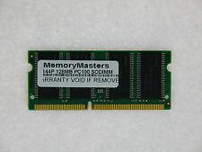 LOT OF TEN 128MB SDRAM RAM PC100 SODIMM 144-PIN 100MHZ