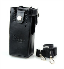 NEW Faux PU Leather Case/ Holder for Motorola Radio GP328/338 GP340 GP360 GP380