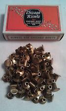 20-6 Chicago Brass Brake Rivets