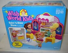 #4084 NRFB Vintage Kenner Wish World Kids Spice N Slice Stove with Joann Doll