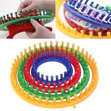 4pcs Round Circle DIY Hat Scarf Classical Knifty Knitter Knitting Knit Loom Kit