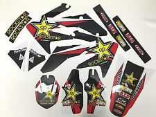 New Team Rockstar Honda Graphics CRF 250R CRF250R 2004-2009