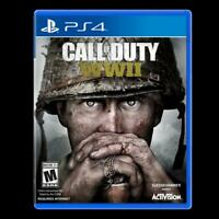 Call of Duty WWII Playstation 4 PS4 PS5 WW2 World War 2 Activision Shooter New!