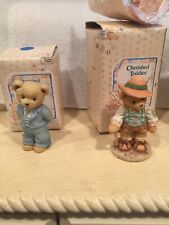 Cherished Teddies Collectables. Lot Of 17 Figrines