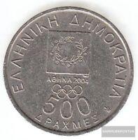 Griechenland KM-Nr. : 178 2000 sehr schön Kupfer-Nickel 2000 500 Drachmen Vicela