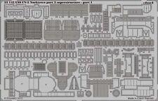 Eduard 1/350 USS Yorktown CV-5 parte 3 superestructura # 53142