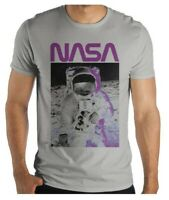 NASA SPACEMAN ASTRONAUT WALK ON THE MOON LANDING MENS T-SHIRT S M L XL 2XL 3XL