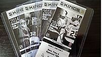 1 Los Angeles Kings New York Rangers Stanley Cup Playoff Ticket Stub 6/13/14 Gm5