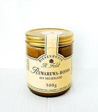 Rewarewa Honig aus Neuseeland 100% naturreiner 500g Glas Neuseeländischer Honig