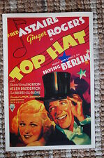 Top Hat Lobby Card Movie Poster Fred Astaire - Ginger Rogers