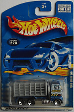 Hot Wheels - Ford Stake Bed Truck / LKW blaumet./grau Neu/OVP US-Card
