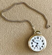 SCARCE HAMILTON 950 ELINVAR RAILWAY SPECIAL POCKET WATCH 10KGF 23 JEWELS 5 ADJ