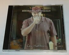 Like New 2005 Zac Harmon 'The Blues According to Zacariah' CD  Mb