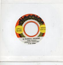"""JOHNNY VENTURA Y SU COMBO - Bobine/ Si Pudiera Amarte, RARO SG 7"""" MERENGUE"""