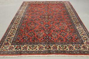 Antik Original handgeknüpfter Sarugh Teppich 300 x 200 cm top zustand
