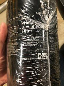 Pure Mack primary diesel fuel filter 20704867 new genuine