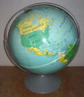 """1995 Nystrom Political 16"""" Relief Globe #34-47 Double Axis"""